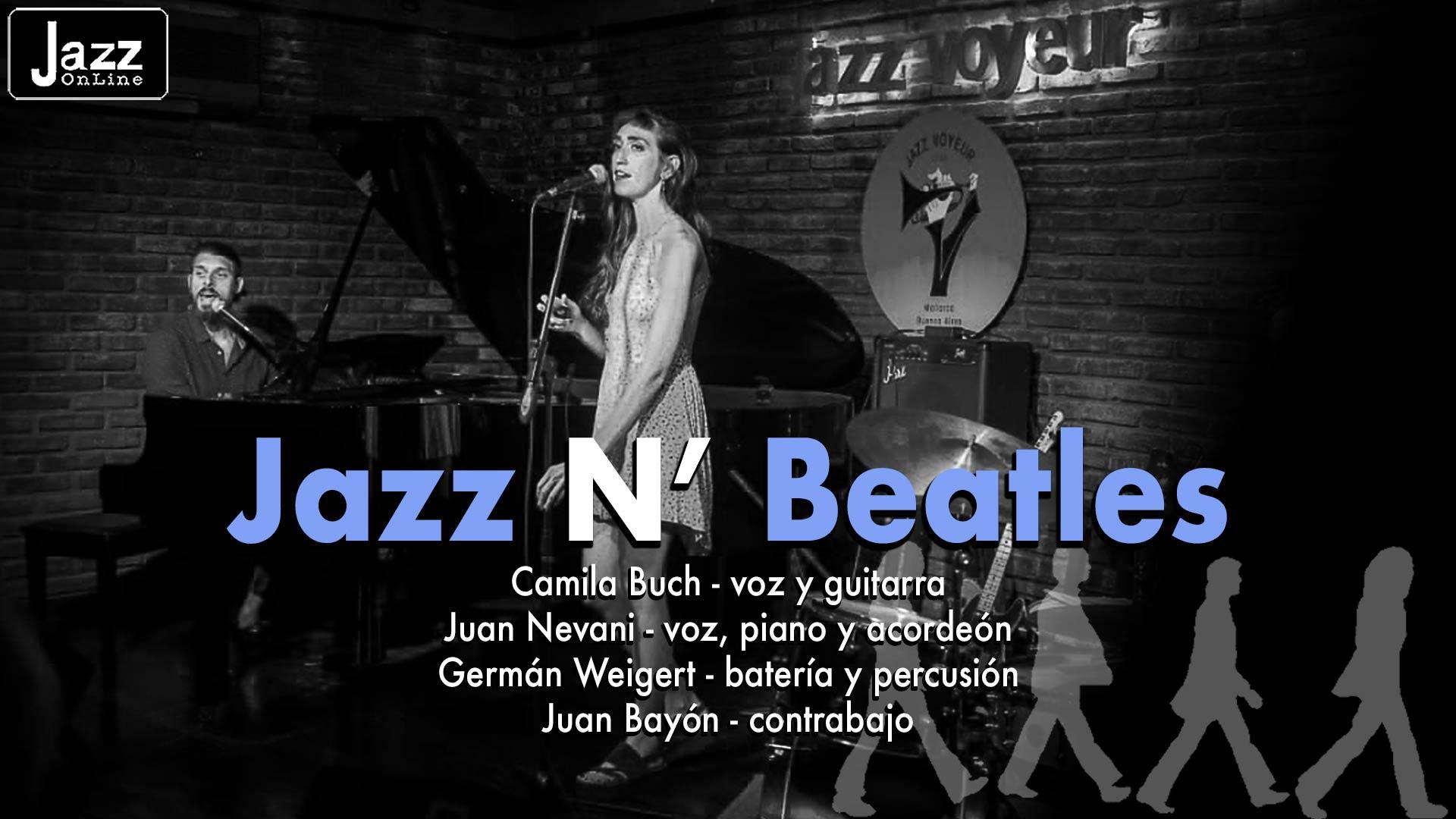 Jazz N' Beatles con Camila Buch & Juan Nevani